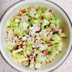 chicken apple celery salad