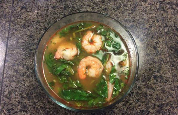 shrimp soup 2