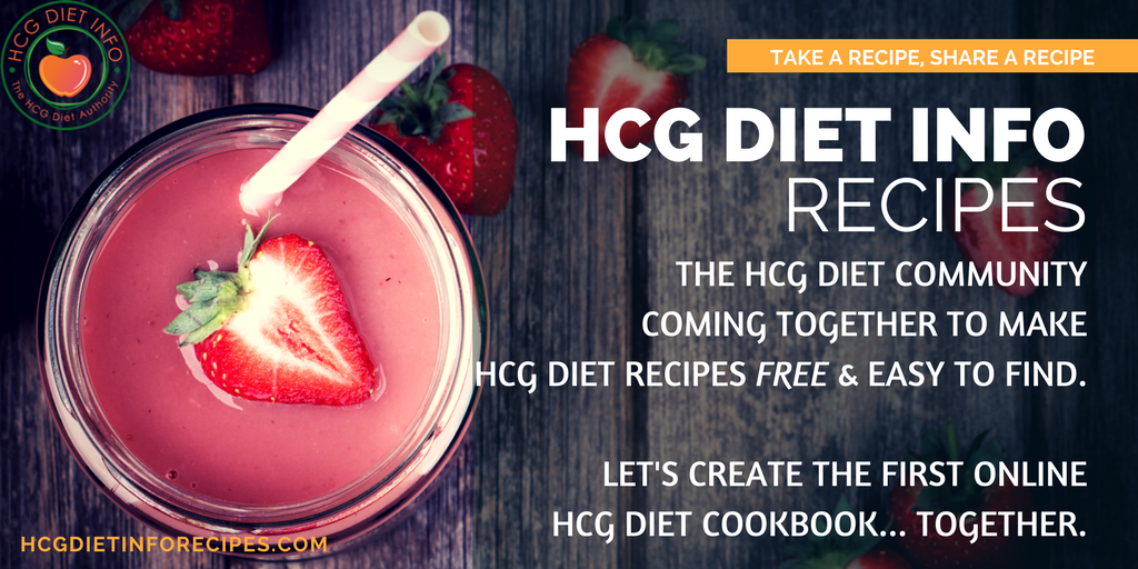 Welcome to Hcg Diet Info Recipes