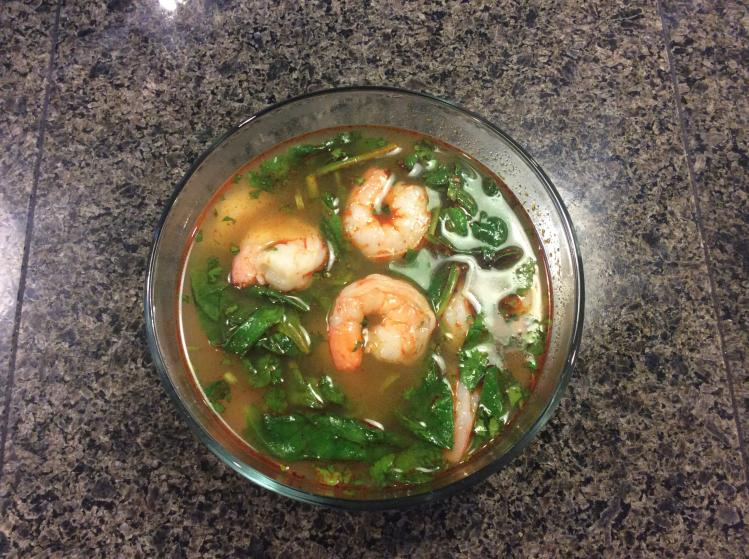 Spinach Shrimp Soup Easy Hcg Diet Phase 2 Recipe Hcg Diet Info Recipes
