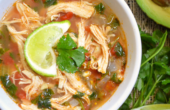 Chicken Chipotle Soup Recipe for Hcg Diet Phase 2